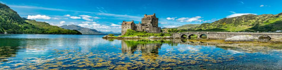 Eilean Donan Castle bei der Isle of Skye