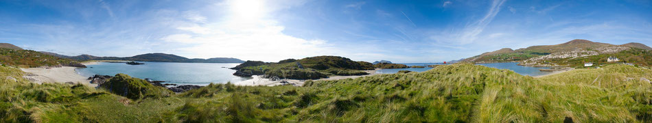 Derrynane Strand - Ring of Kerry - Tag 3 unserer Tour