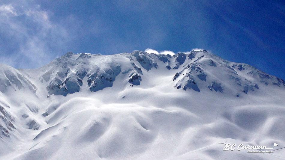 BCキャンプ立山バックカントリーツアー