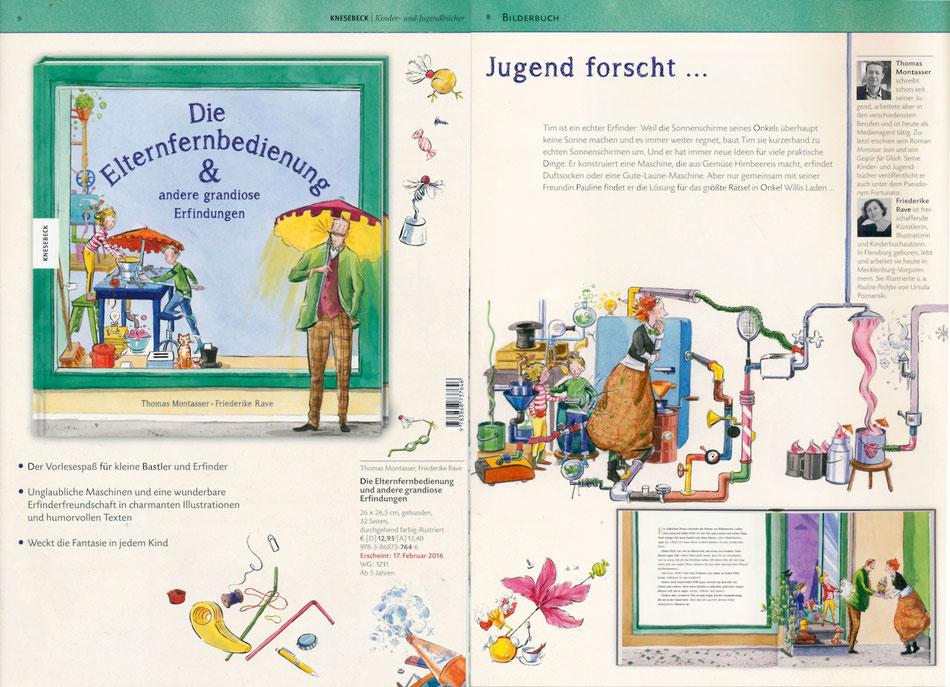 ISBN Nummer: 978-3-86873-764-6 Knesebeck. 32 Seiten, 26 cm mal 26,5 cm. 12,95 Euro.