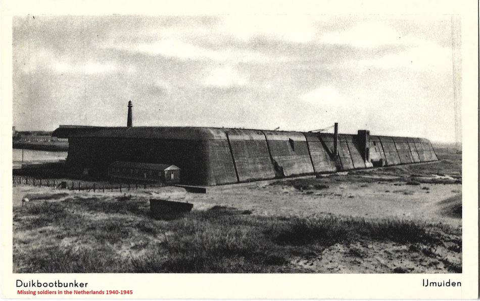 U-boat bunker at Ijmuiden, near Amsterdam