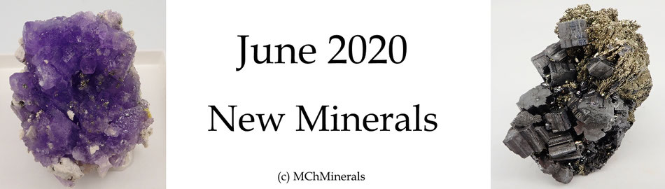 New minerals for sale