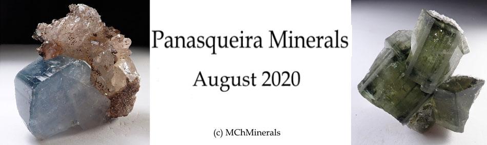 Minerales de Panasqueira en venta