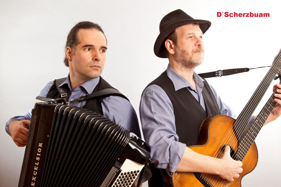 Scherzbuam, Leo Klinke, Akkordeon Kontragitarre