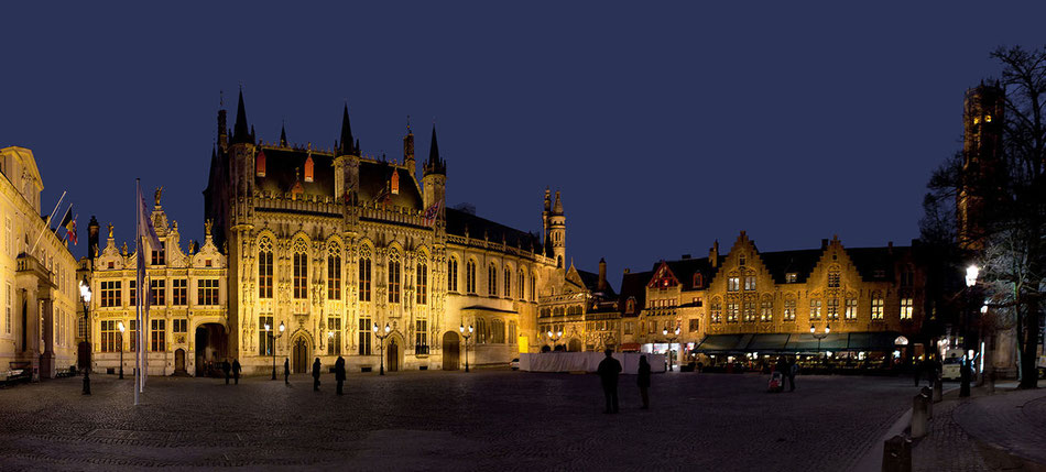 Burgplatz in Brügge