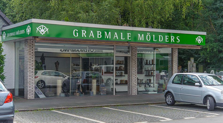 Das Ladenlokal von Grabmale Mölders finden Sie in Duisburg!