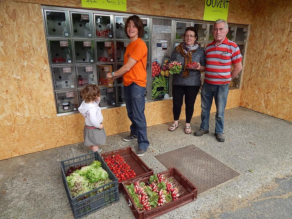 La cueillette de cappy - Cappy - Somme - Picardie - Vallée de la Somme - Pays du Coquelicot- fruits et legumes de saison - producteur