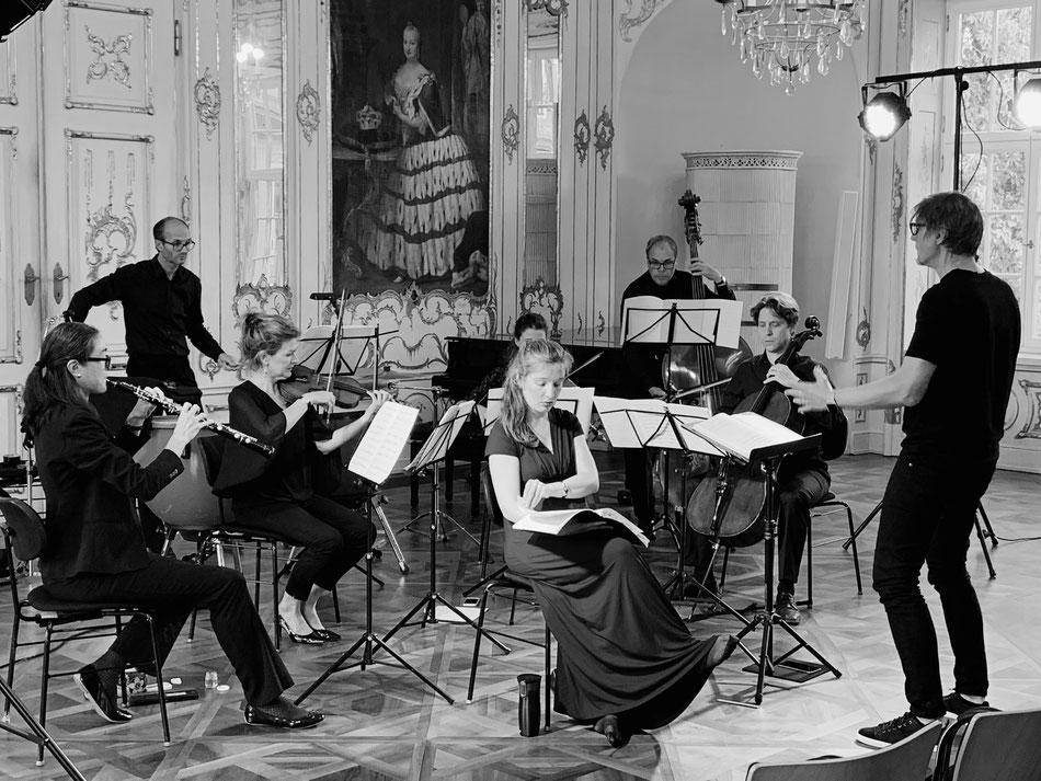 Ensemble MEMORIA TENERE, Rokokosaal der Regierung von Schwaben, Fronhof Augsburg