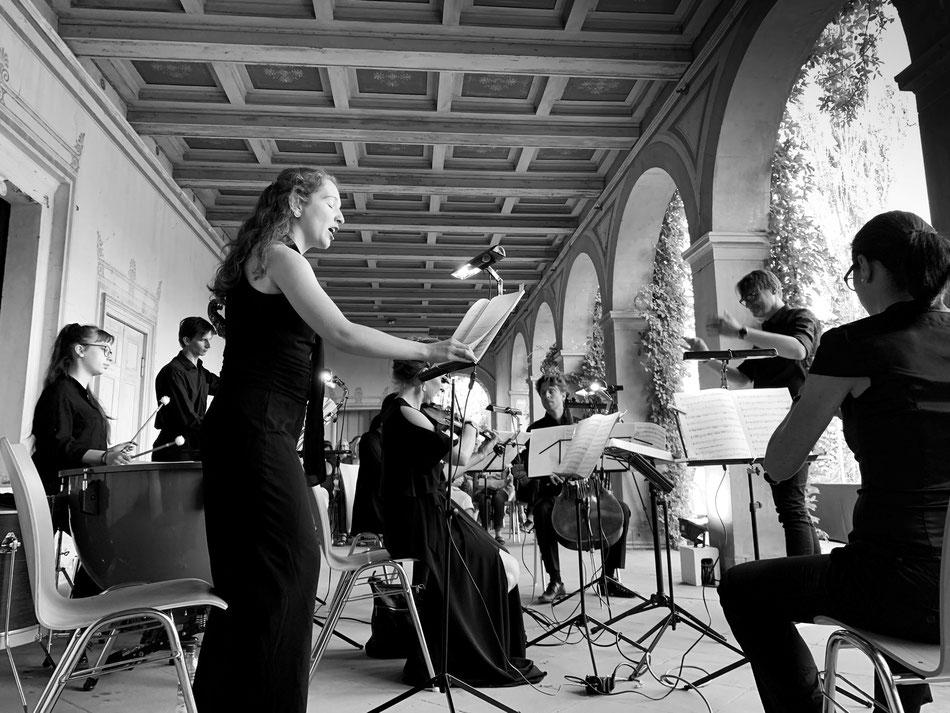 Ensemble MEMORIA TENERE, Römische Bäder Potsdam, Park Sanssouci