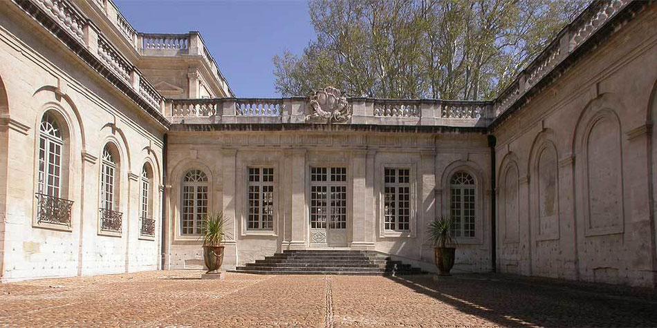 Das Calvet Museum in Avignon