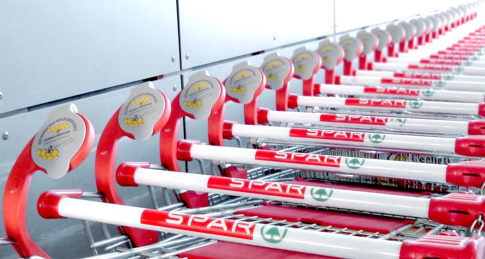 EIWAL® Einkaufswagen-Lupe als Symbol für Kundenorientierung