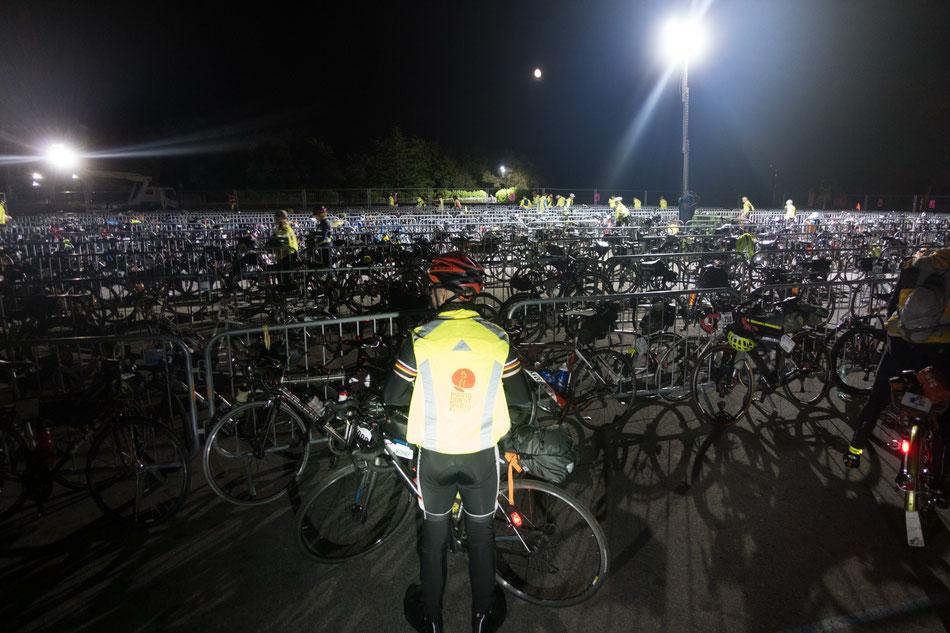 Nachts um 0:30 in Carhaix