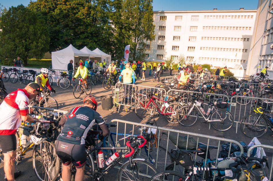 Checkpoint bei Brest: Halbzeit!