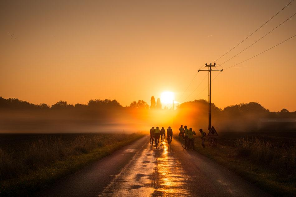 Eine letzte Fahrt in den Sonnenaufgang