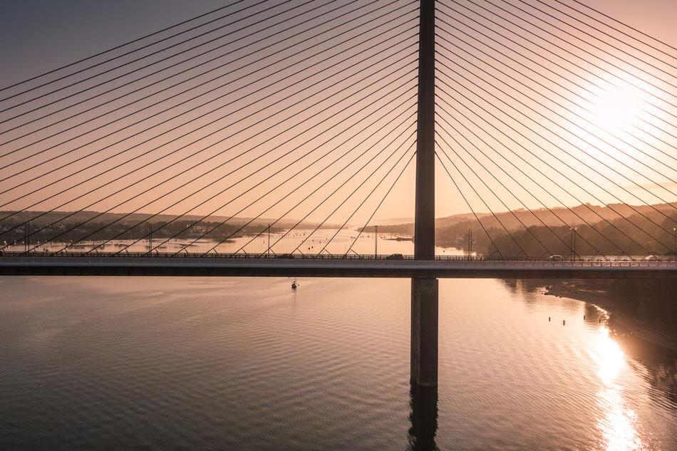 Für einige ist es nur eine Brücke bei Brest, für uns Randonneure ist es die halbe Welt (c) Michi Lihs