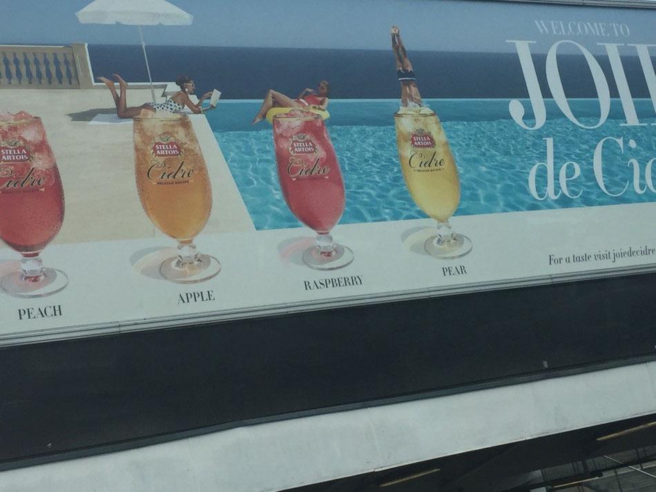 Stella Cider. YUM.