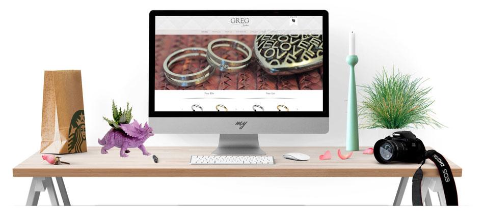 Création site internet pour artiste, photographe et créateurs.