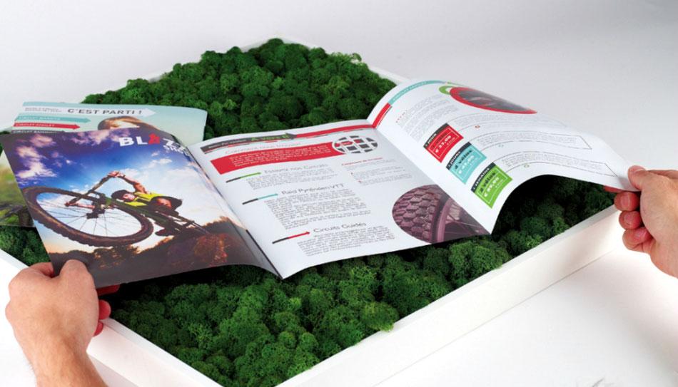 Création dépliant et brochure