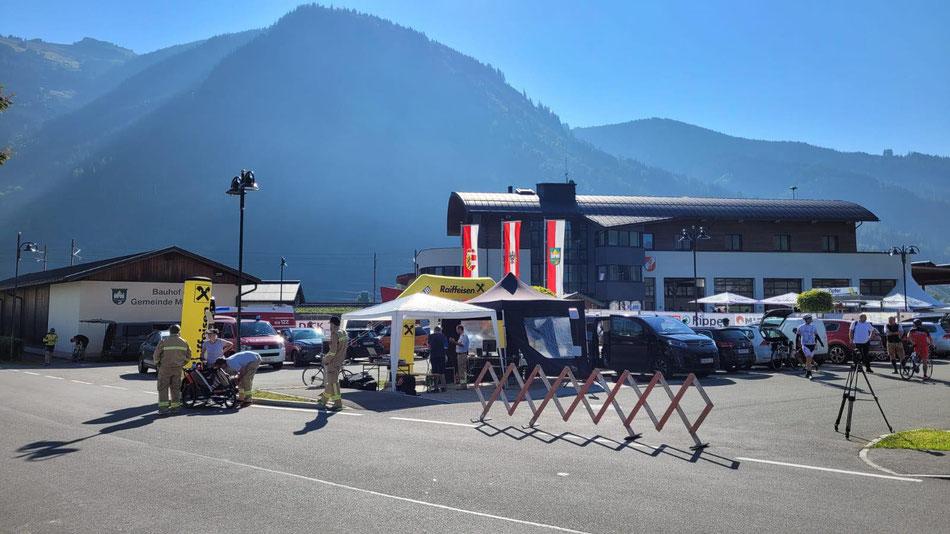 Feuerwehr Rad Meisterschaft 2021  in Maishofen/Salzburg