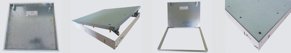 Einschub-Reviklappe F60/90/120 GK 25mm für Trennwände