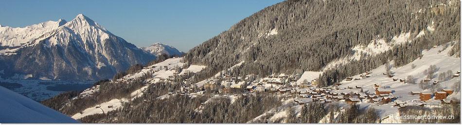 Schlittelplausch Niederhorn - Waldegg - 20.02.2012