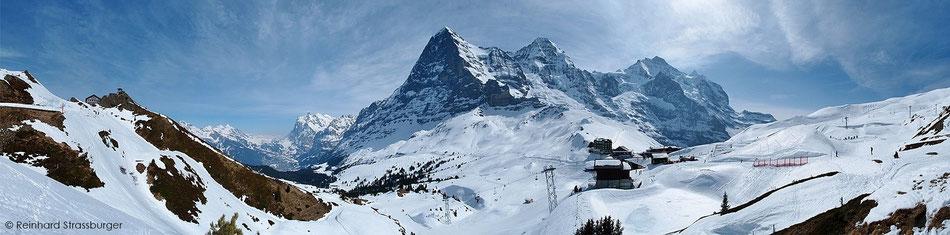 Kleine Scheidegg - Blick auf Eiger, Mönch und Jungfrau