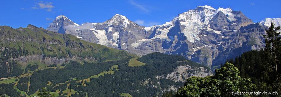 Sommerwanderung Grütschalp - Winteregg, Allmendhubel, 05.08.2015