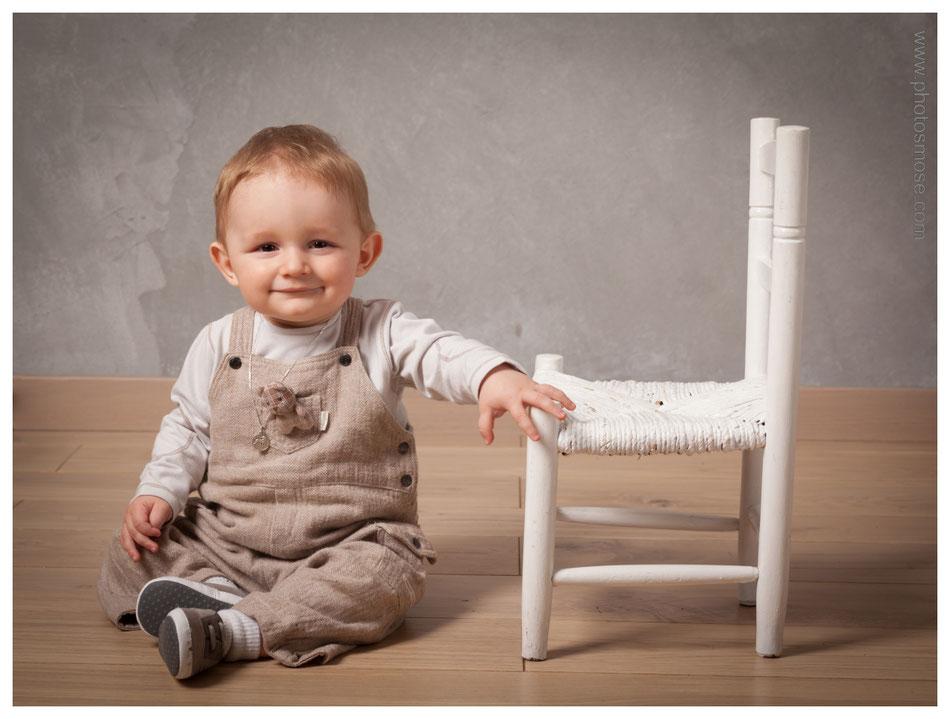 Photos d'enfant noir et blanc chez Phot'Osmose - Moulins