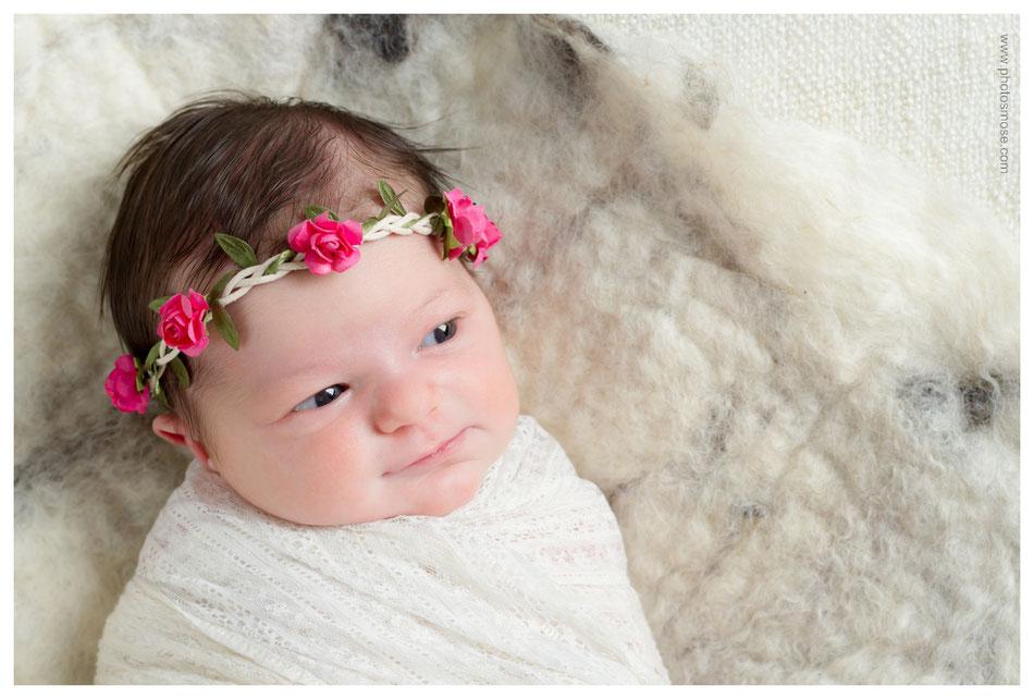 Photo de nouveau né à Moulins chez Phot'Osmose