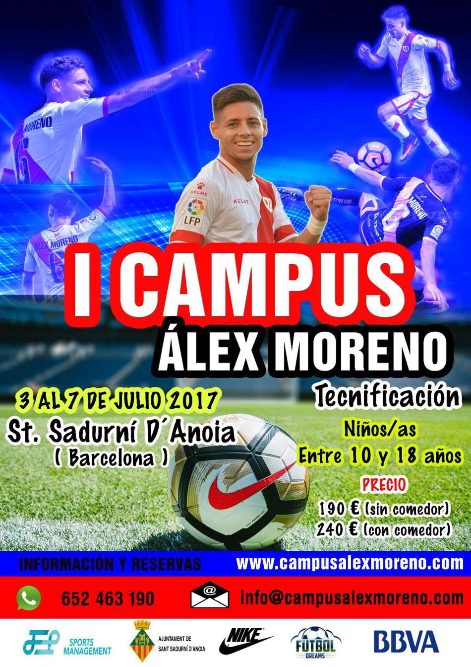 I Campus Álex Moreno - agentes fifa be0413729f9