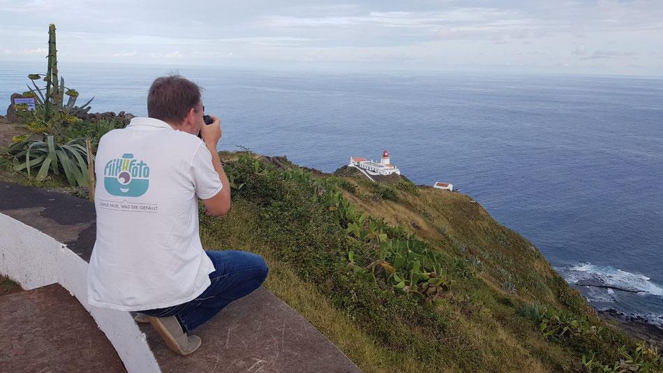 Fotoshooting auf Santa Maria /Azoren