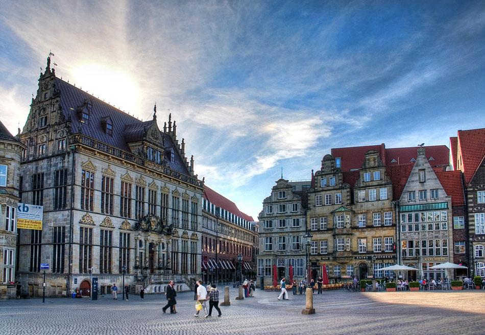 GPS-Rallye als Betriebsausflug in Bremen