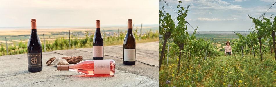 Gelebte Tradition: Seit Generationen legt die Familie Braunstein im Weinbau fachkundig und naturverbunden Hand an.