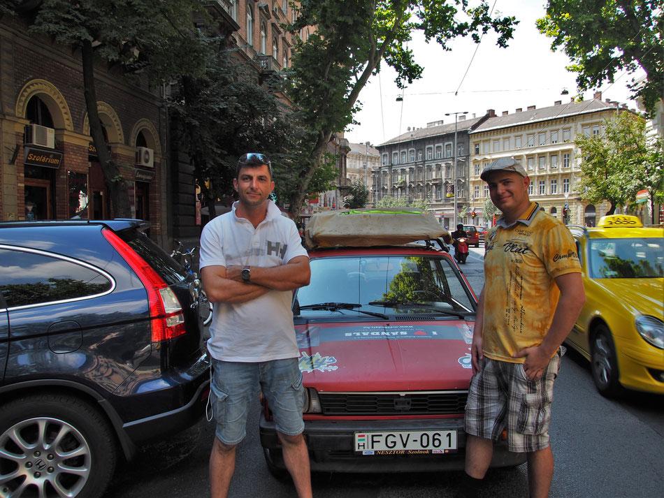 Rajt a Podmaniczky utcából az InteresThings Kft elől.