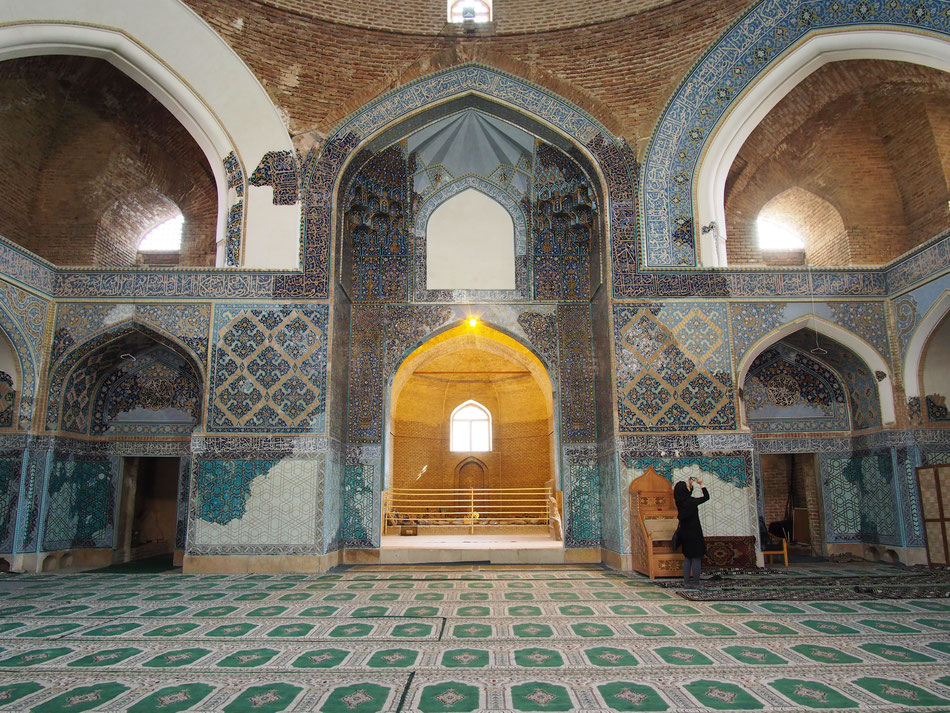 A tabrizi Kék mecset - az egyik kedvenc mecsetem.