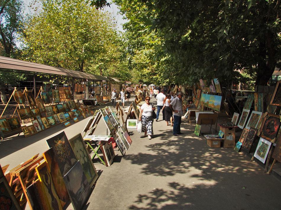 Vernissage - Művészpiac Jerevánban