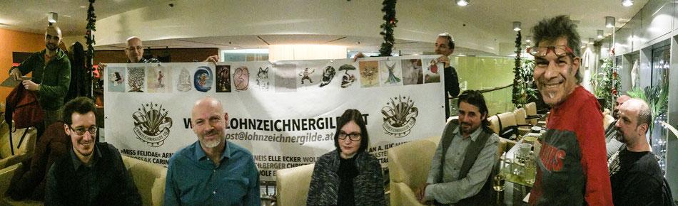 Lohnzeichnergilde Weihnachtsfeier 2016