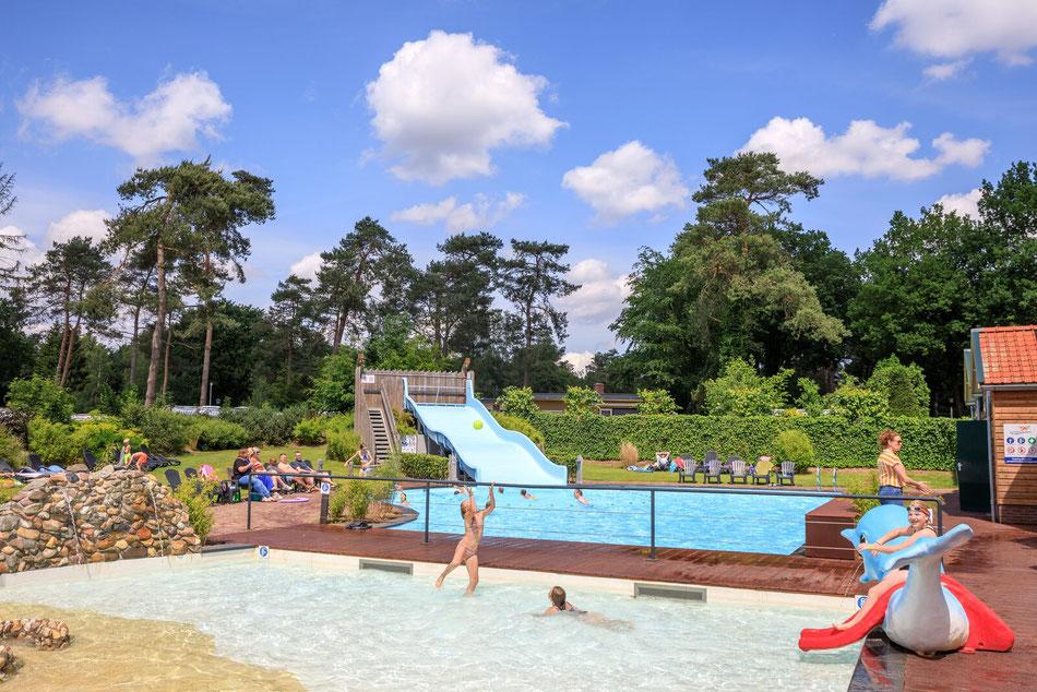 Bungalowpark op de Veluwe, Resort Veluwe voorheen Camping de Hertshoorn