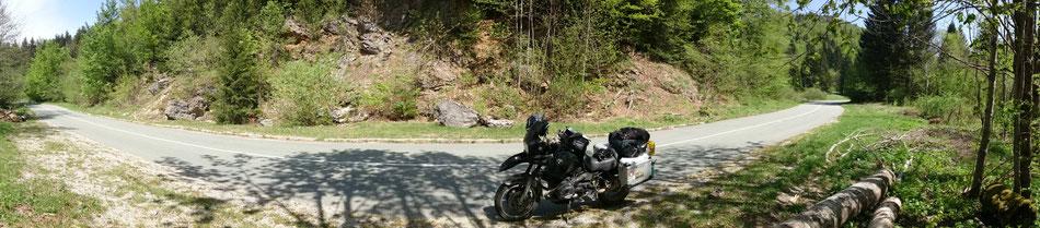 zwischen Ogulin und Gomirje in Kroatien