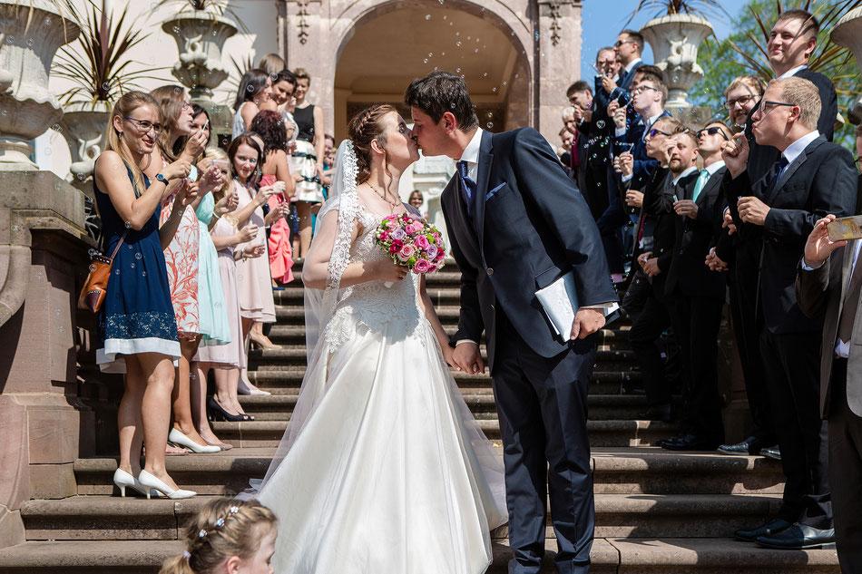 Hochzeitsfotos Lichtenwalde, Barockschloss Lichtenwalde, Hochzeitsreportage Sachsen, Hochzeitsfotograf Sachsen, Fotografin Diana Krüger, Brautpaarshooting Lictenwalde,