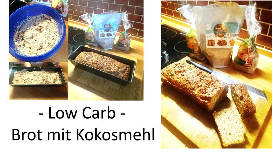 Ein Rezept für Low carb Brot mit SoloCoco Kokosmehl