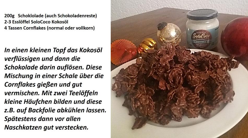 Schokoflocken mit Kokosöl von SoloCoco - Rezept