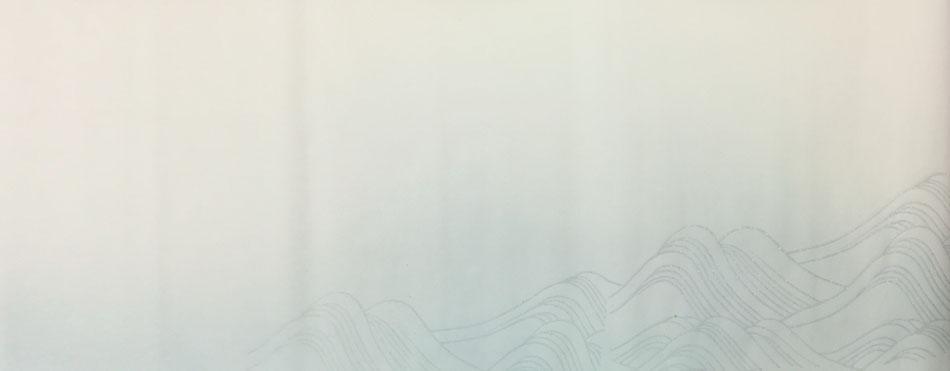 波紋様砂子(ヨコ)全体