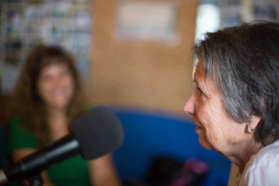 Isabel y Antonia Arquero, la protagonista de la entrevista de Benqueridos/as