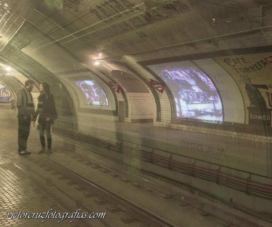 La estación fantasma, fotografías del blog de Víctor Cruz Fotógrafo.