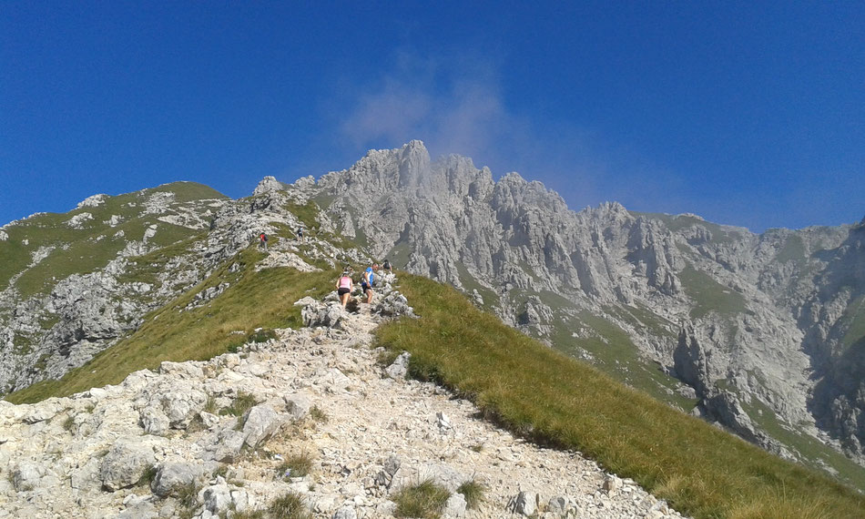 Grigna Meridionale - Cresta Cermenati - trail no. 7
