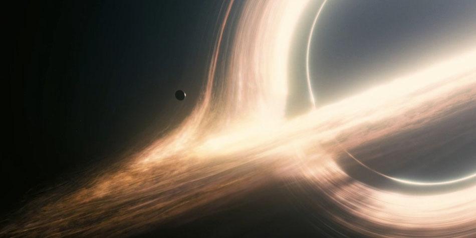 Das Schwarze Loch  Gargantua - aus Interstellar