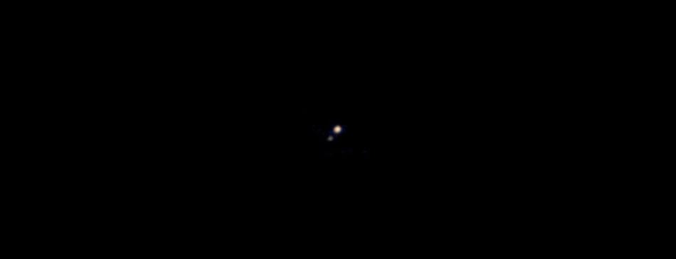 Pluto und Caron | Foto: New Horizon; NASA 2009