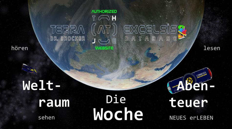 Titelcover der Weltraum-Abenteuer-Woche   Grafik: T@E