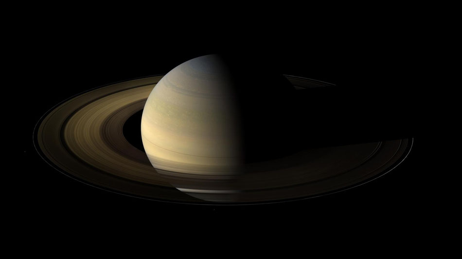 Der Saturn | Foto: Cassini Heugyns Mission am Saturn
